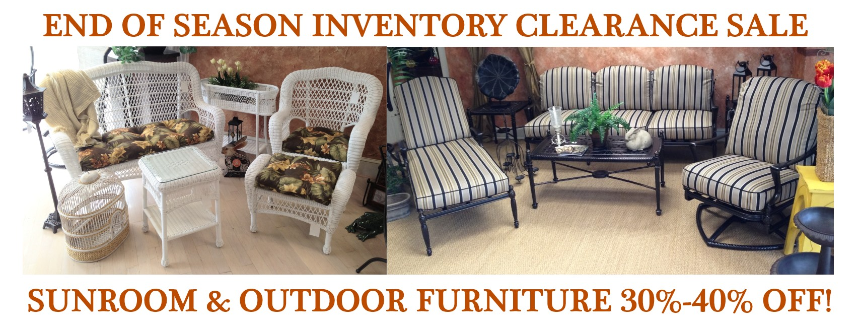 Sunroom Clearance For Fall Flyer Furniture Finesse York Pa Furniture Store