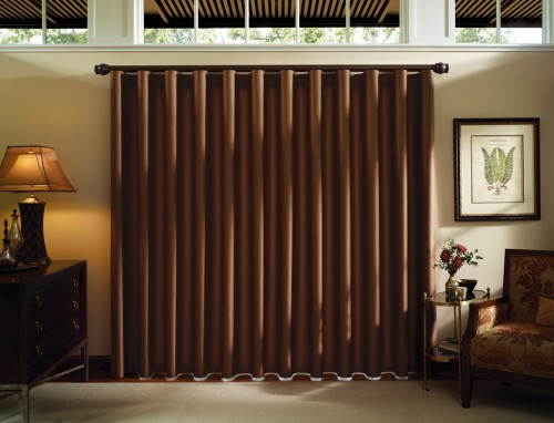 Luminette® Modern Draperies with Combination Wand/Cord system