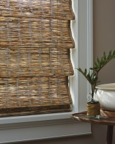 Provenance® Woven Wood Shades closed