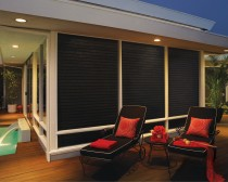 Nantucket™ window shadings with UltraGlide®