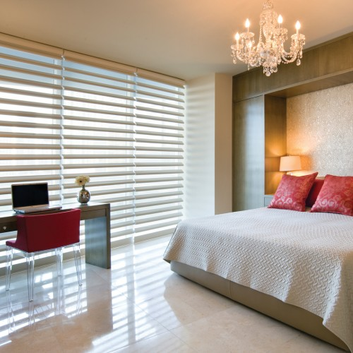 Pirouette® window shadings PowerRise® 2.1 with Platinum™ Technology