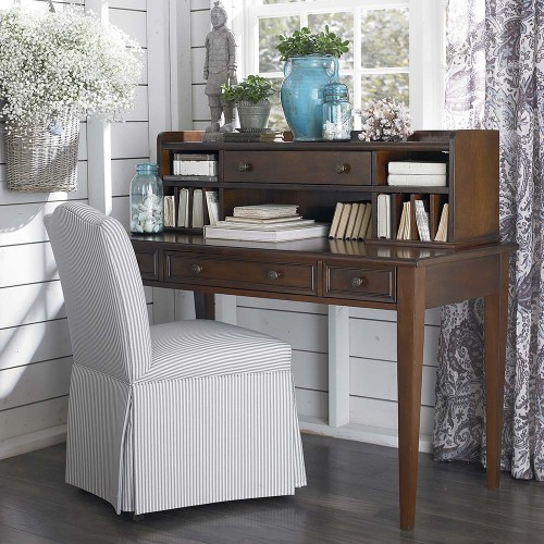 Bassett Desk with Storage Topper